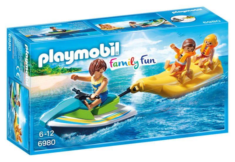 Playmobil 6980 Vodní skútr s banánovým člunem