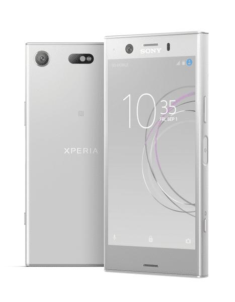 Sony Xperia XZ1 Compact, White Silver