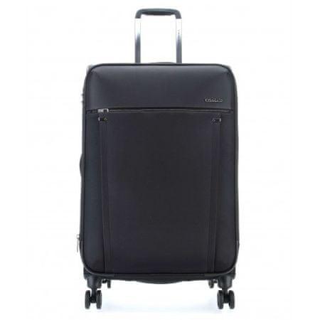 Roncato kovček 4K Expandable Zero Gravity, srednji, 71/85 L, črn