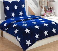Jahu posteljnina Stars blue