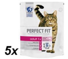 Perfect fit Adult granulátum lazaccal 5x750g