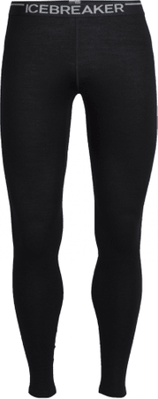 Icebreaker Mens Tech Leggings Black M