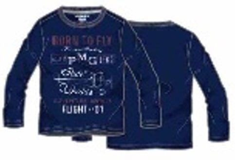 Primigi chlapecké tričko tmavě modrá 140