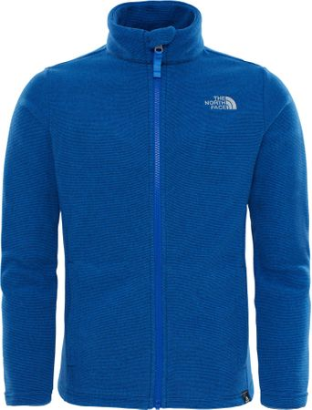 The North Face Y Snow Quest Fz Brgt Cob Blue XS