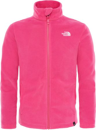 The North Face Y Snow Quest Fz Ptct Pink XS