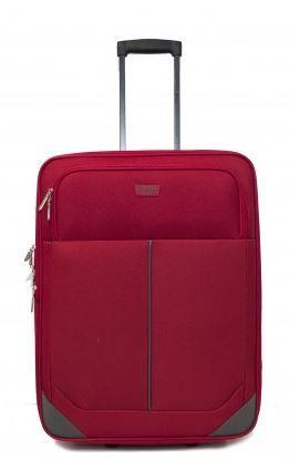 Travel and More potovalni kovček, 91 L, rdeč