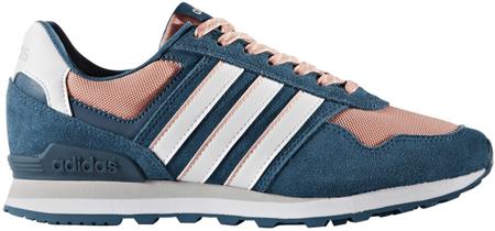 Adidas 10K W Petrol Night/Footwear White/Trace Pink 39.3