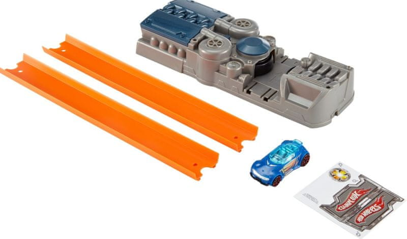 Hot Wheels Track Builder Vystřelovač