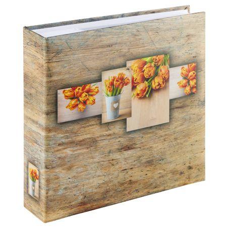 Hama foto album Rustico, 10x15, 200 slik, oranžen