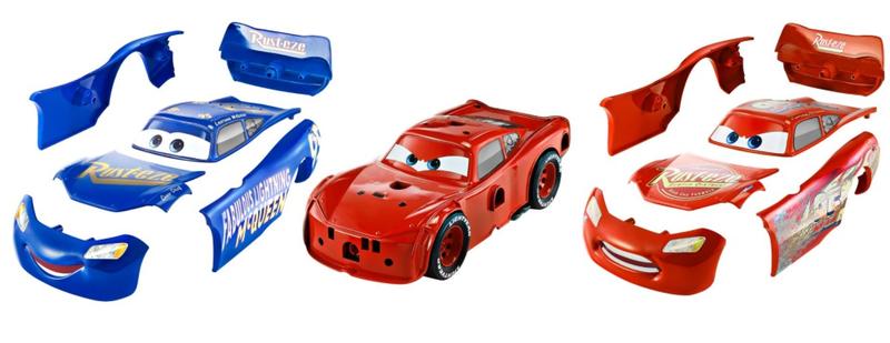 Hot Wheels Cars 3 Vyladěný Blesk McQueen