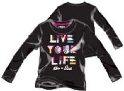 Primigi dívčí tričko čierna 104