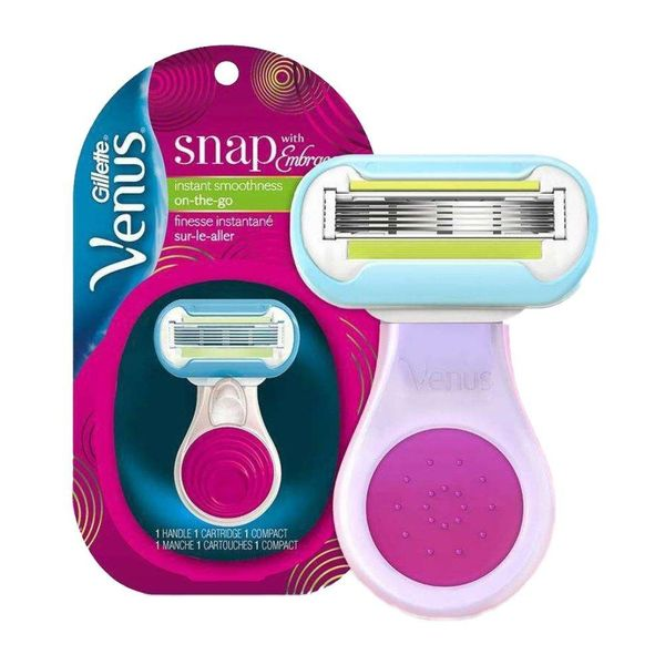 Gillette Venus Snap strojek + 1 hlavice Pink