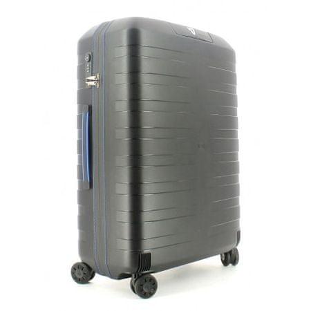 Roncato kovček 4W Box, srednji, 80 L, moder/črn