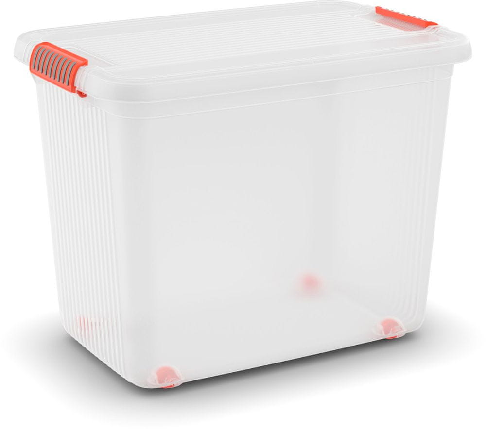 Kis K Latch Box XLL 69 l, transparentní