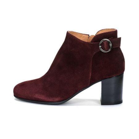 Marc O´Polo dámská kotníčková obuv 37 vínová