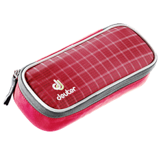 Deuter Pencil Case raspberry-check
