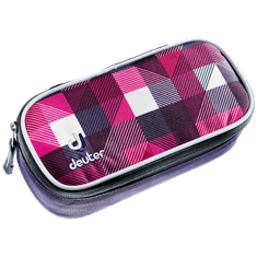 Deuter Pencil Case magenta arrowcheck