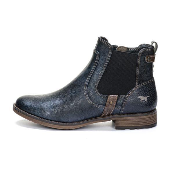 Mustang dámská kotníčková obuv 38 tmavě modrá