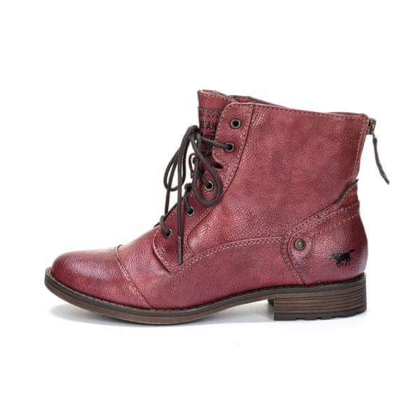 Mustang dámská kotníčková obuv 41 červená