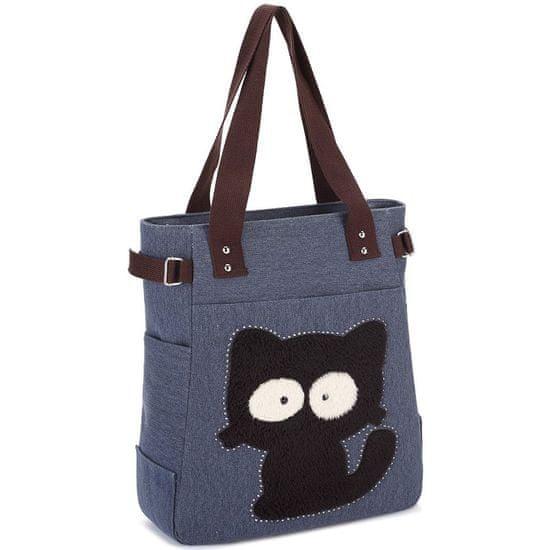 Kaukko Kaukko torba Dizzy Cat, modra