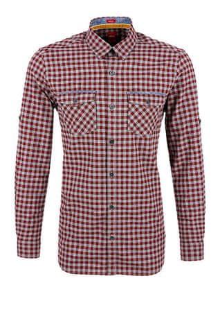 s.Oliver pánská košile XL vínová