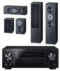 Pioneer VSX-531D-B + Magnat Monitor Supreme 802 set, černá