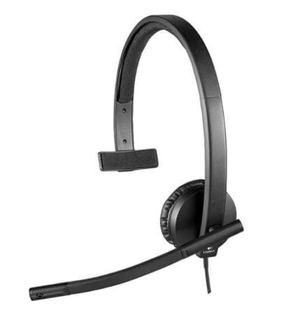 Logitech žične Mono slušalke H570E
