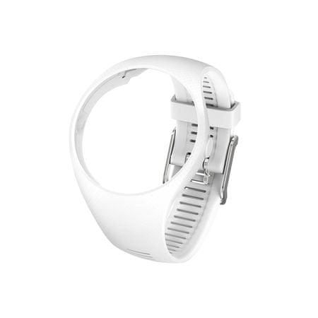 Polar zapestni pašček za uro M200, S/M, bel