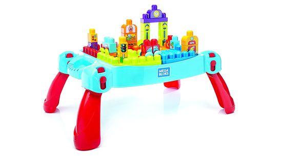 MEGA BLOKS Klasszikus építő játékasztal