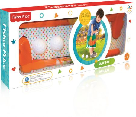 Fisher-Price DOLU golf készlet
