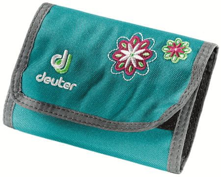 Deuter Wallet petrol flower