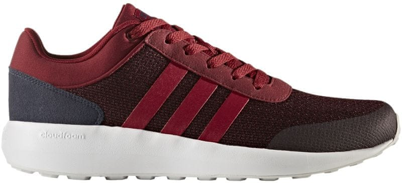 Adidas CF Race Collegiate Burgundy/Collegiate Burgundy/Collegiate Navy 40.7