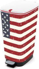 Kis chic Bin L American Flag 50 l (kosz na odpady)