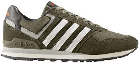 Adidas 10K Trace Olive/Ftwr White/Energy 42.7
