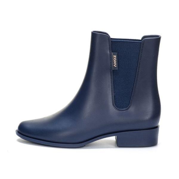Zaxy dámská kotníčková obuv London Boot II 41/42 modrá