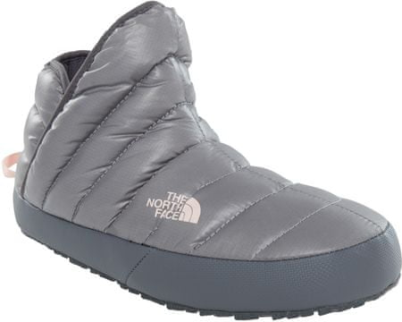 The North Face W Thermoball Traction Bootie Shiny Frost Gre 41