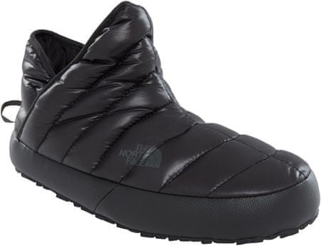 The North Face W Thermoball Traction Bootie Shiny Tnf Black 38