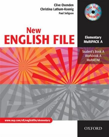 Oxenden Clive: New English File Elementary Multipack A