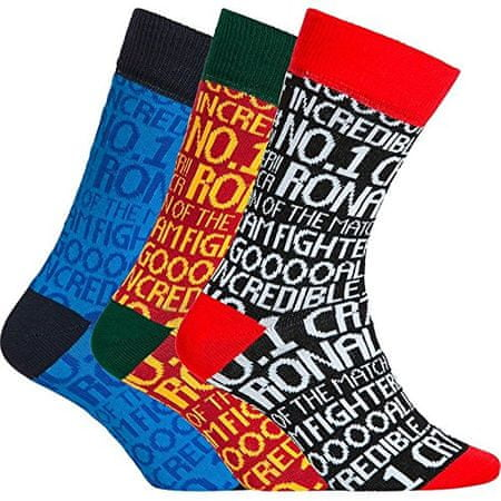 CR7 nogavice za dečke, 3 kosi, št. 30-34 (8470-80-418)
