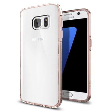 Spigen ovitek Ultra Hybrid za Samsung Galaxy s7, roza