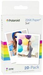 "POLAROID Zink 3x4"" Media - 20 pack"