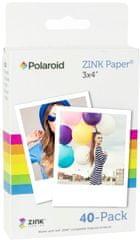 "POLAROID Zink 3x4"" Media - 40 pack"