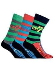 CR7 nogavice za dečke, 3 kosi (8470-80-445)