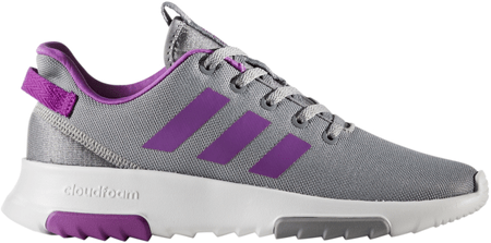 Adidas CF Racer Tr K Grey Three/Shock Purple/Footwear White 35.5