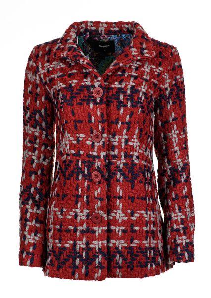 Desigual dámský kabát 40 červená