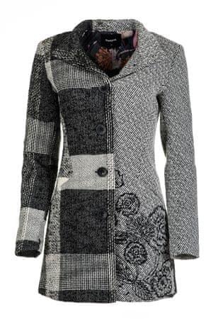 Desigual dámský kabát 40 šedá  e0bf8e3f82