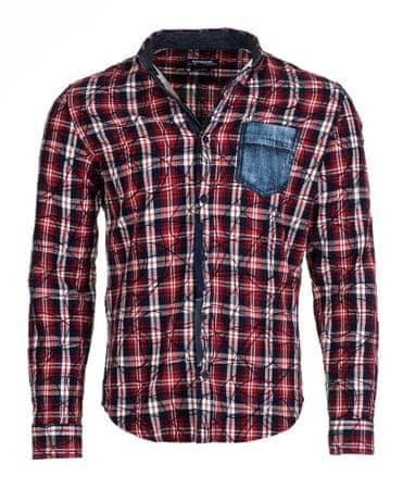 Desigual moška srajca Juli L rdeča