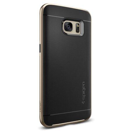Spigen ovitek Neo Hybrid za Samsung Galaxy S7 Edge, zlat