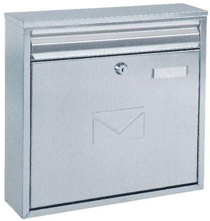 Rottner poštni nabiralnik Teramo, inox