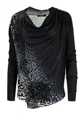 Desigual ženski pulover Adeline XL črna